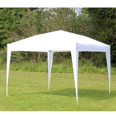 white gazebo 10 x 10 palm springs ez pop up white canopy gazebo tent