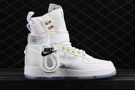 Nike Sf Af 1 Mid White 2018 new year cny nike sf af1 air 1 mid lunar lny white habanero for sale