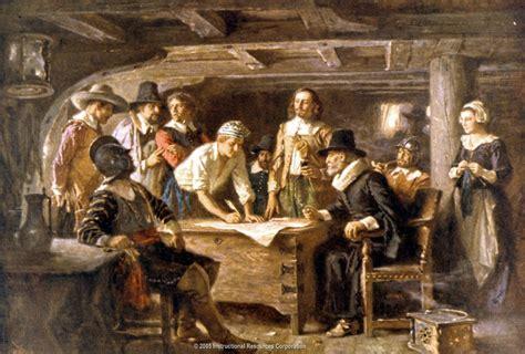 the pilgrims mayflower compact genius