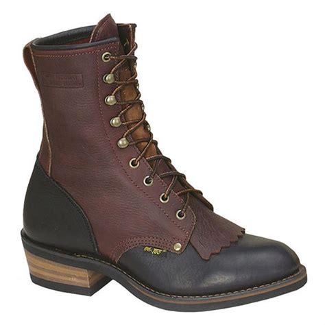 adtec boots s 9 quot ad tec 174 two tone packer boots chestnut