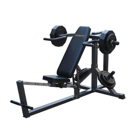 lever weight bench bodymax cf666 lever bench press chandler sports