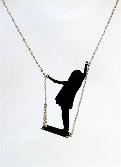 girl on swing silhouette 28 best images about girl on a swing necklace on pinterest