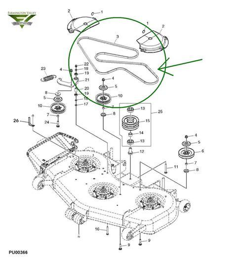 deere 737 parts diagram deere 737 757 777 797 ztrack 60 inch mower deck belt