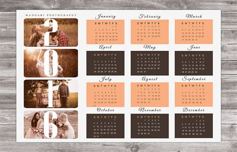 calendar template psd 20 best wall calendar template designs psd png eps