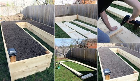 Building A Raised Garden by How To Build A U Shaped Raised Garden Bed Icreatived