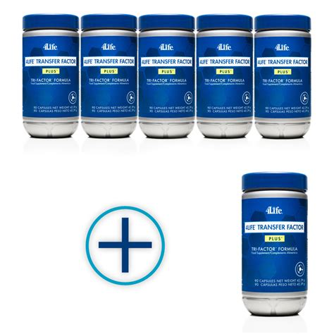 supplement 4life transfer factor 6 bottles of transfer factor plus for the price of 5 pet