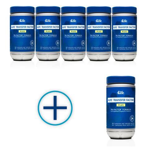 Suplemen Transfer Factor 6 bottles of transfer factor plus for the price of 5 pet