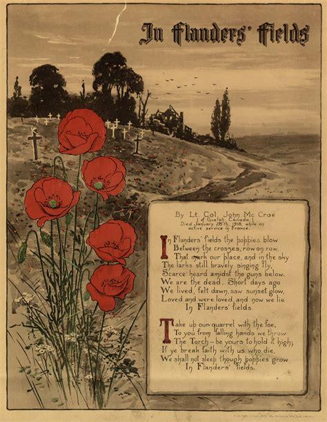 in flanders fields picture book in flanders fields digital archive toronto library