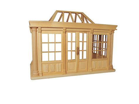 dolls house conservatory deluxe dolls house conservatory unpainted