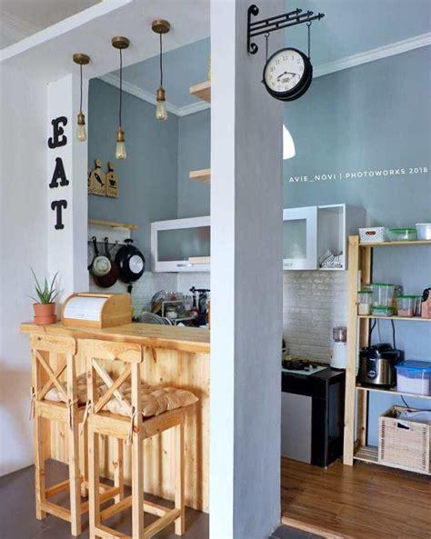 desain dapur cantik instagrammable tren