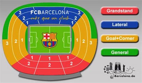 c nou stadium seat map book your tickets for home of the fc barcelona