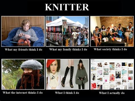 Knitting Meme - 136 best images about knitting can be funny on pinterest