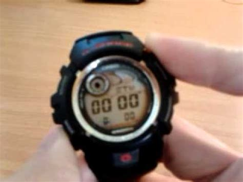 G Shock G2900 casio g shock g2900 visual review