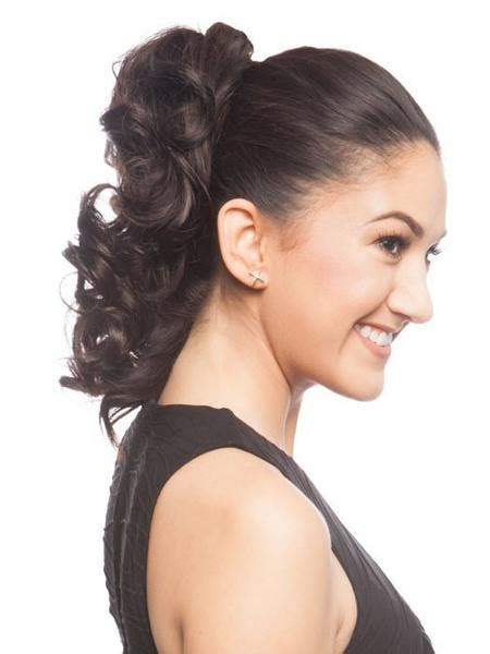 Wig Poni Depan Curly crush by easihair ponytail wigs the wig experts