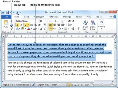 how do i use a template in word copy and apply formatting in word 2010