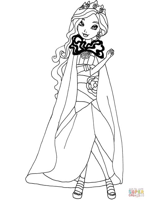 ever after high coloring pages legacy day ever after high coloring pages raven legacy day