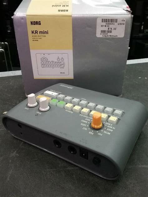 Ac Lg Model Sn 18 Lfg korg compact drum machine mcquade musical instruments