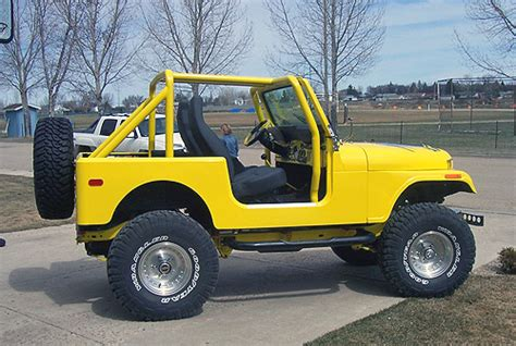 old yellow jeep jeep wrangler cj 7 photos 5 on better parts ltd