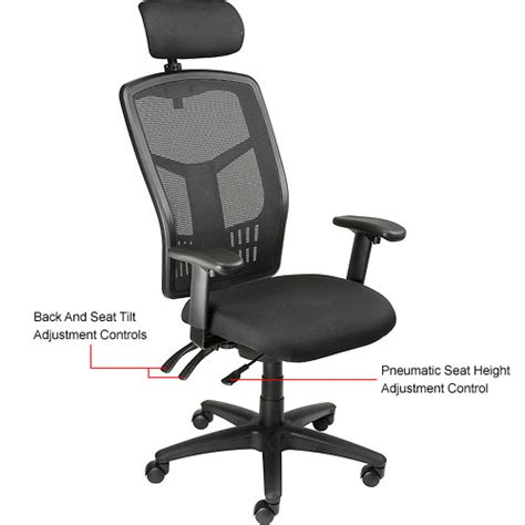 desk chair with headrest purchase ventilated mesh chair breathable office chair