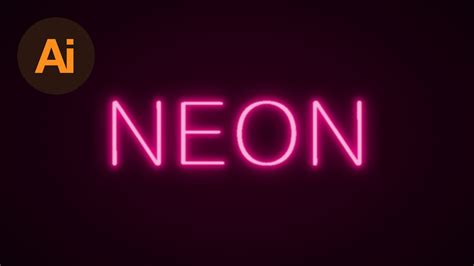 typography tutorial neon learn how to create a neon text effect in adobe