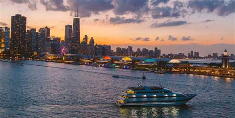 romantic dinner boat cruise chicago prix fixe dinner cruises odyssey cruises