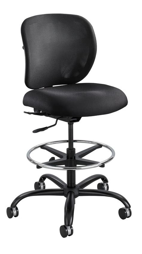 Heavy Duty Drafting Stool by Safco 3394 Vue Industrial Office Task Stool