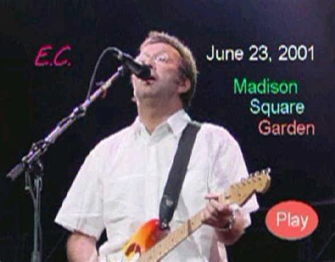 eric clapton square garden june 23 2001 dvd r