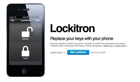 Lockitron Will Let You Lock Your Front Door Using An Iphone Front Door Lock Iphone