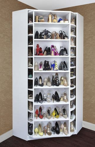 Shoes Rack Ideas by Shoe Storage Idea Gt Lazy Susan A Revolving System Where