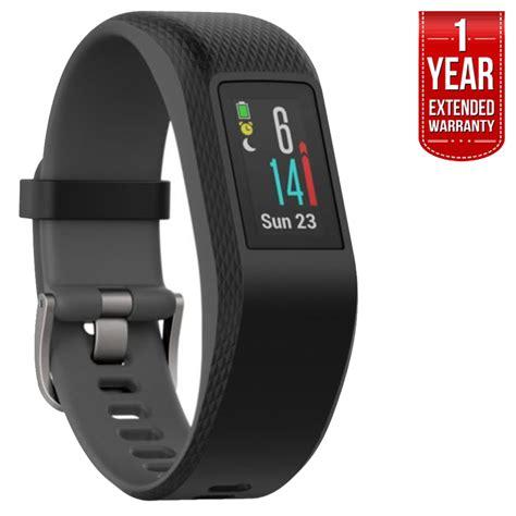Garmin Vivo Sport Sl Fu Ll Garansi Resmi Termurah garmin vivosport smart activity tracker gps slate l extended warranty ebay