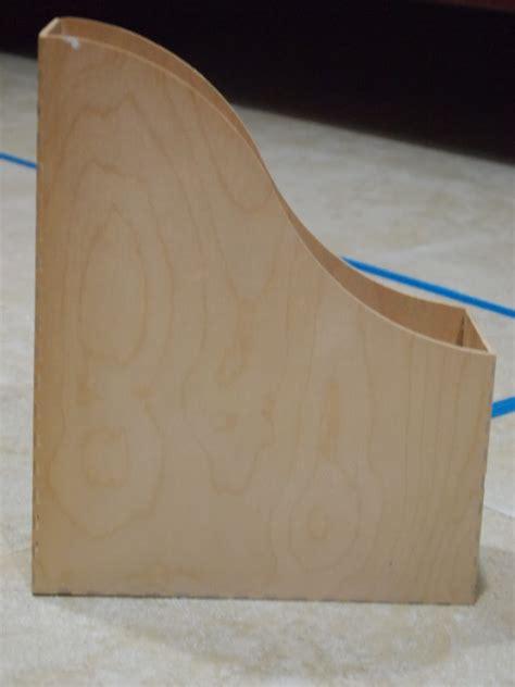 wooden pattern holder teen diy decorated wooden magazine holder