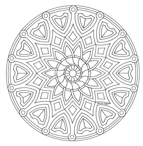 Mandalas Coloring Pages Coloring Pages Mandala