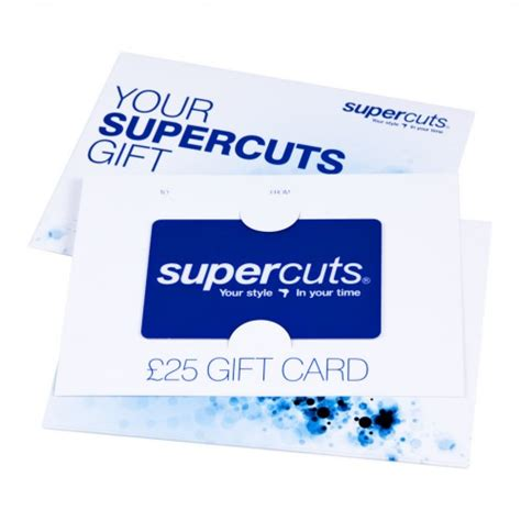 Supercuts Gift Card - gifts for her christmas gift ideas christmas gift sets
