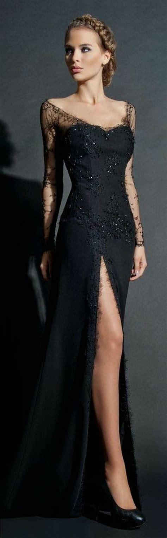 abendkleider lang mit tattoo spitze stylische kleider