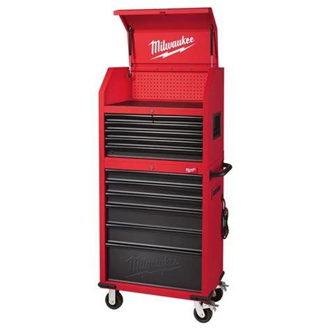 milwaukee  storage chest cabinet tool