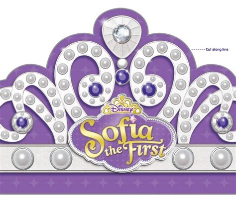 sofia the first printables free templates to make