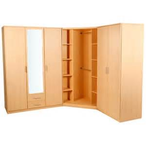 wimex large bedroom wardrobe corner wardrobe unit beech ebay