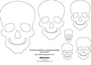 blank sugar skull template printable skulls for day of the dead m o d f r u g a l