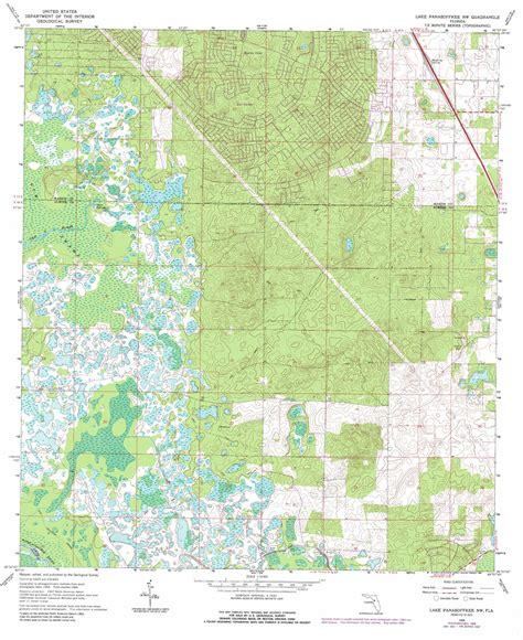 map of nw florida lake panasoffkee nw topographic map fl usgs topo