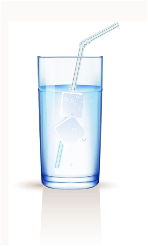 glass svg glass with water free vector 4vector