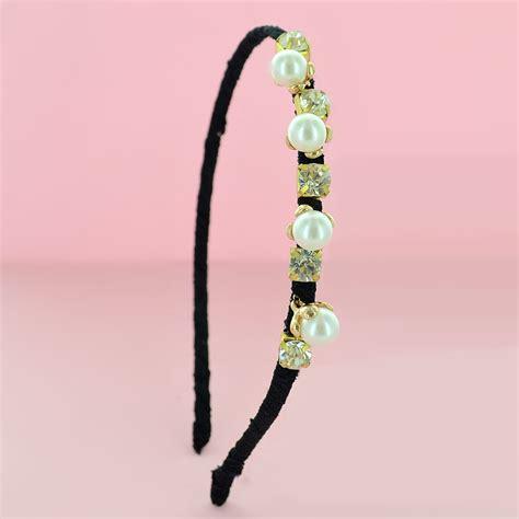 Faux Pearl Headband faux pearl headband 095807 910