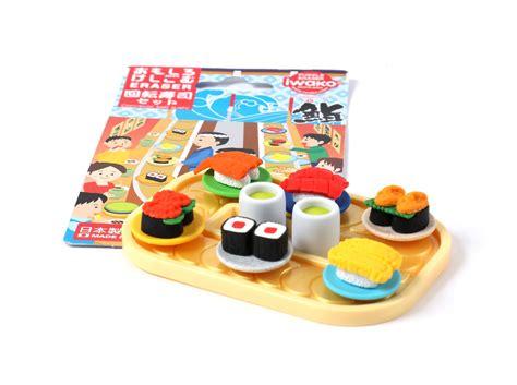 Eraser Set sushi eraser set passports
