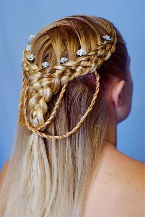 irish hair styles celtic blonde braided hairstyle all things celtic