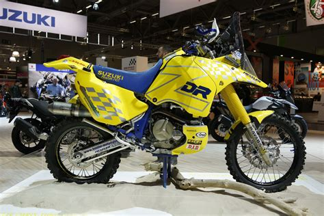 Rally Dakar Motorrad by Checkout This Historic Suzuki Dr Z Dakar Rally Race Bike