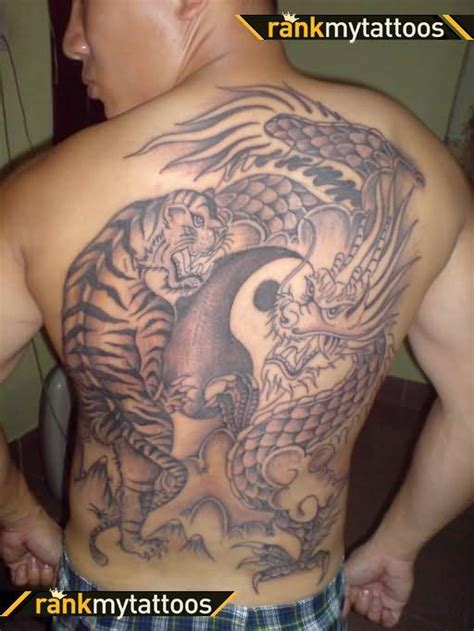 top back tattoos for men tattoos page 188