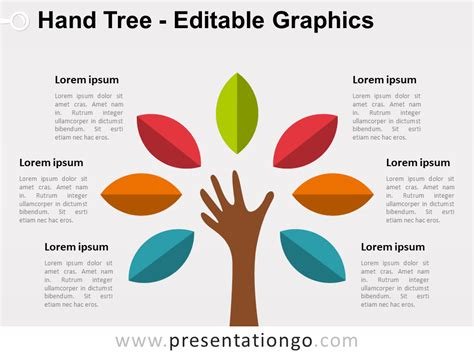 Tree The Free Powerpoint Template Library Powerpoint Tree Diagram
