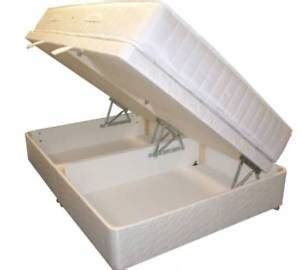 3 4 Bed Mattress by 4ft Small Ottoman Bed Pocket Mattress 3 4 Size Ebay