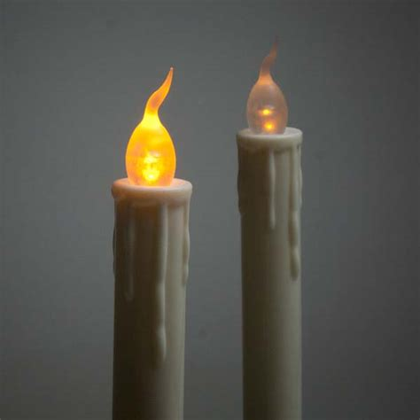 battery taper candles uk pack of 2 battery operated led taper candles 28cm decorations and supplies uk