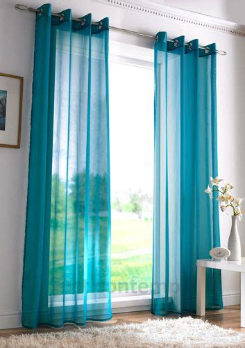 Teal Window Curtains Rod Pocket Curtains Teal Curtains And Window On