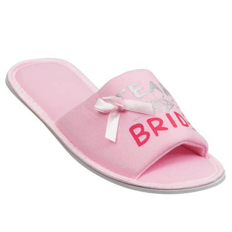 Wedding Slippers by Womens Wedding Slippers Hen Do Gifts Womens Footwear